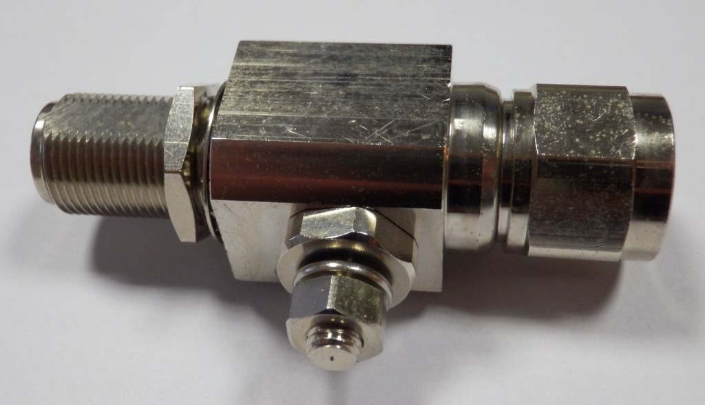 Surge Arrester - Connector N (male) to N (female)